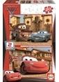 Educa Educa Çocuk Puzzle Karton 2X20 Arabalar 2 Renkli